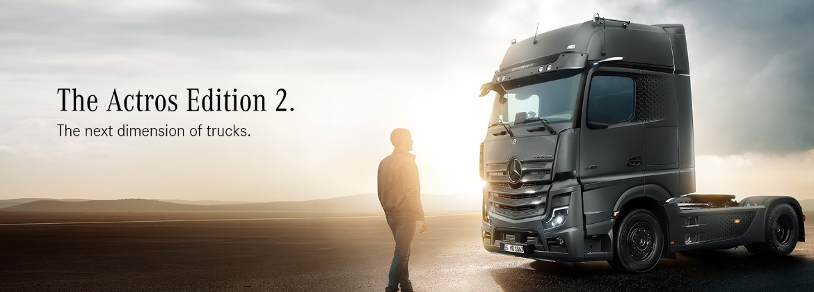 New Actros Edition 2