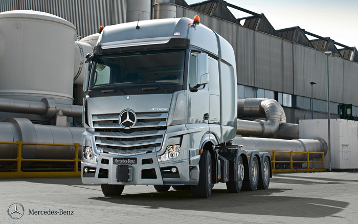 City west commercials new mercedes trucks somerset for Mercedes benz truck parts