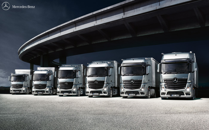 City west commercials new mercedes trucks somerset for New mercedes benz commercial